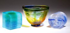 Emma Varga, Ann Wolff, and Steven Weinberg Cut Glass, Glass Art, Steven Weinberg, Ann, Auction, Winter, Winter Time, Crystal, Glass Craft