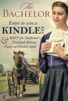 """Author Stephanie Reed is celebrating the release of her newest book, """"The Bachelor,"""" by giving away a Kindle and hosting a Facebook launch party on 10/28! Click to enter and to find out more details!"""