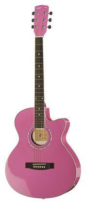 Harley Benton EAX-10 Pinky - Thomann www.thomann.de #gifts #gift #present #xmas #christmas #music #gear #accessories #gear #instrument #kids #starters #beginners #begin #start #guitar #steelstring #acoustic