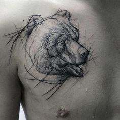 Sketchy Bear