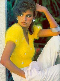 Gia Carangi by Francesco Scavullo for Vogue, 1980