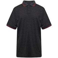 Men's Polo Shirt with Flat Knit Collar Charcoal Marl Colo... https://www.amazon.co.uk/dp/B07DNGGX7Y/ref=cm_sw_r_pi_dp_U_x_g9tiBb1HCV3YA