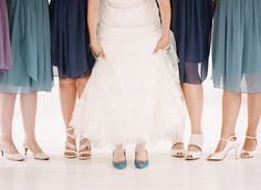 From purple to navy blue bridesmaid dresses