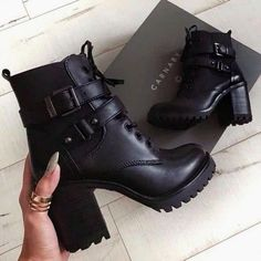 Newest edgy fashion photography. 18697 - Newest edgy fashion photography. Edgy Shoes, Teal Shoes, Black Shoes, Grunge Shoes, Black Heel Boots, Heeled Boots, Shoe Boots, Ankle Boots, Shoes Heels
