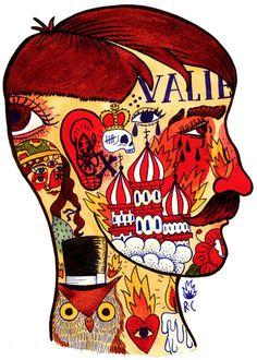 Blog: Ricardo's Wild Art - Doodlers Anonymous
