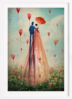 Good Morning - Catrin Welz-Stein - Ingelijste poster