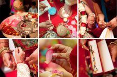 Mariages en Inde sont chargés avec la coutume et de fête qui procèdent pour quelques jours . Pour la plupart n'importe où entre 100 à 10 000 individus aller. Souvent, une partie lourde des participants sont obscurs pour mariée et se toiletter . Le mariage traditionnel indien est d'environ deux familles étant réunis socialement , avec autant accent mis sur les familles à venir plus près que le couple marié .