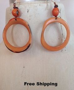Tagua Earrings 1E602