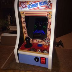 Donkey Kong Bartop Arcade Powered By Rpi