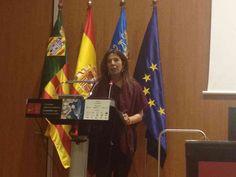 Cuchita Lluch presidenta de la Academia de la Gastronomia Valenciana dedica unas palabras.