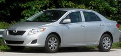 Toyota Corolla 2006. She bought this new. She was proud of her Corolla.