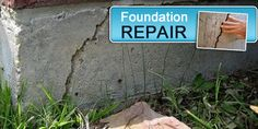 how to fix a cracked foundation how to build the foundation pinterest foundation basements and house repair - Fixing Foundation Cracks