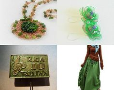 Morning finds in green by Elena on Etsy--Pinned+with+TreasuryPin.com