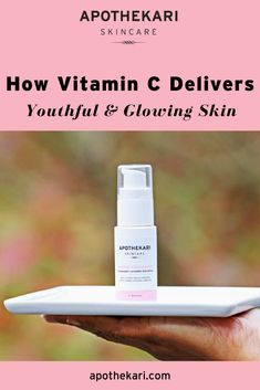 For beautiful, glowing skin! Neutralize free radicals, fade age spots & visibly improve the appearance of aging skin with a made-to-order vitamin C serum. Skincare Blog, Best Skincare Products, Vitamin C Serum, Face Serum, New Things To Learn, Clean Beauty, Glowing Skin, Healthy Skin, Skin Care Tips