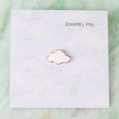 pins&patches Cloud Enamel Pin The fashion world, however, rarely cares for the name of a university Bag Pins, Little Presents, Jacket Pins, Cool Pins, Metal Pins, Pin And Patches, Stickers, Pin Badges, Brooch Pin
