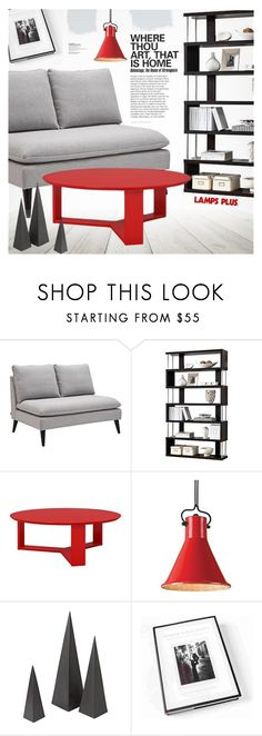 """""""Living Room"""" by pokadoll ❤ liked on Polyvore featuring interior, interiors, interior design, home, home decor, interior decorating, Jennifer Taylor, Currey & Company and living room"""