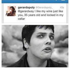 Run like you never ran before, Gerard.