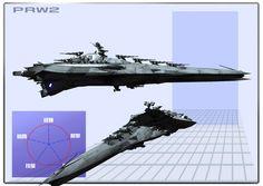 【PRW2】サラマンダー級高速戦艦i色々【遊星解放軍】