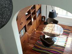 angela adams Spike wool rug in a Texas home