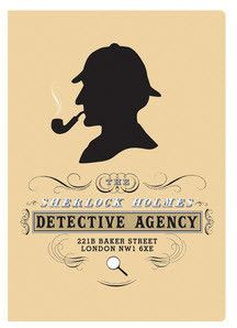 """Sherlock Holmes Notebook"" I wish this also was a plaque or something to put on display instead of just a notebook."
