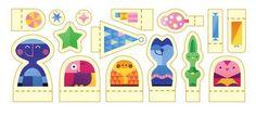 Google życzy Wesołych Świąt przy pomocy nowego w postaci papierowych wycinanek świątecznych