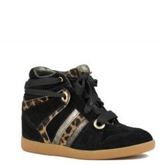 Serafini - Manhattan Black leopard Sneakers