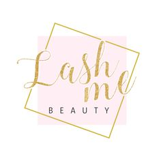 Lashes Logo, Business Logo, My Beauty, Pink And Gold, Place Cards, Place Card Holders, Logos, Instagram, Logo