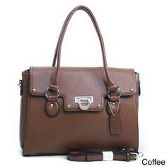 Dasein Women's Briefcase Satchel - Overstock™ Shopping - Big Discounts on Dasein Satchels