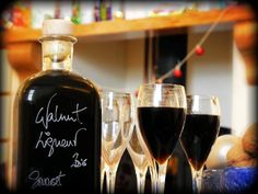 Walnut Liqueur - Christmas in a bottle!