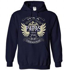 Personalised T-shirts Team PAPAS T-shirt