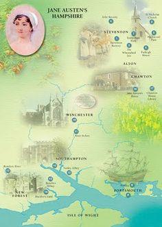 Jane Austen Trail: Discover Jane Austen Country This Summer