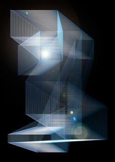ASHANNA - light architecture Light Architecture, Luz Led, Light Installation, Glass Material, Light Painting, Light Art, Light And Shadow, Lighting Design, Light Colors