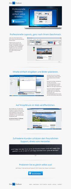Programm Website