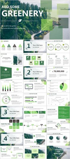 Business infographic : 28 Green annual report chart PowerPoint templates on Behance Powerpoint Design Templates, Professional Powerpoint Templates, Ppt Design, Chart Design, Booklet Design, Design Layouts, Brochure Design, Ppt Slide Design, Design Presentation