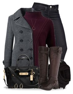Untitled #2691 by sherri-leger on Polyvore featuring polyvore, fashion, style, Miss Selfridge, Lands' End, G-Star, Fitzwell, Coach, River Island, FOSSIL, AllSaints and clothing