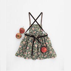 Girls Pinafore Dress