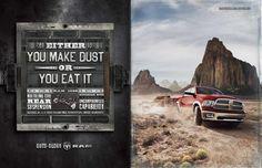 Ram Trucks: Dust, The Richard Group / Copy: Rob Baker