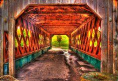Love covered bridges