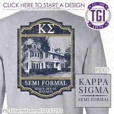 TGI Greek - Kappa Sigma - Semi Formal - Greek Apparel #tgigreek #kappasigma