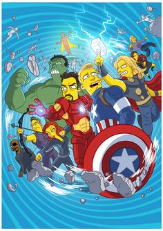 Simpsonized – Transformer les films et séries cultes en personnages des Simpson