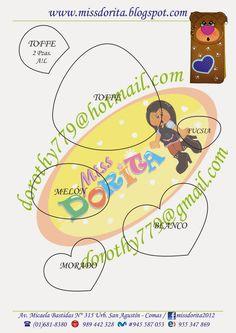 Miss Dorita Foam Crafts, Dory, Dragon Ball, Paper, How To Make, Patterns, Crochet, Bears, Craft