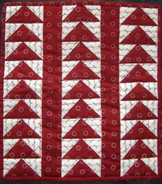 Humble Quilts: Red & White
