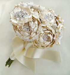 bouquet ideas . i love the idea of a silk bouquet, not only is it stunning it makes for a beautiful heirloom from your special day.