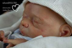 Rebornbaby ~Milou~ Reborn Doll kit by Evelina Wosnjuk so sweet boy newborn baby Reborned by Andrea Heeren Reborn deluxe