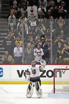 Flower returns to Pittsburgh Pens Hockey, Hockey Memes, Hockey Goalie, Field Hockey, Ice Hockey, Funny Hockey, Golden Knights Hockey, Vegas Golden Knights, Pittsburgh Sports