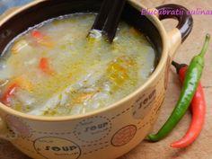 Ciorbă falsă de burtă - rețetă de post Supe, Raw Vegan, Cheeseburger Chowder, Vegetables, Cooking, Food, Mai, Dinners, Dinner Parties