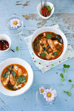 Recipe: Chicken Recipes / Thai Red Curry Chicken Recipe - tableFEAST