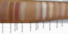 The Fancy Face: REVIEW + SWATCHES   Make Up For Ever Artist Shadows