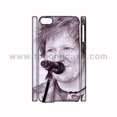 iPod Touch 6 Full Body Durable Hard Case Design With Ed Sheeran