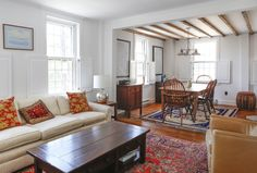 A Light-Filled 1772 Colonial House in Rhode Island
